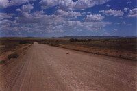 The road to the Flinders Ranges