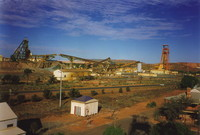 The gold mines of Kalgoorlie