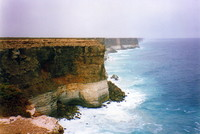 Cliffs along the Great Australian Bight