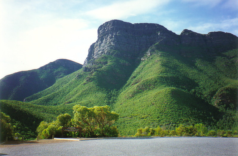 Bluff Knoll in the Stirling Ranges