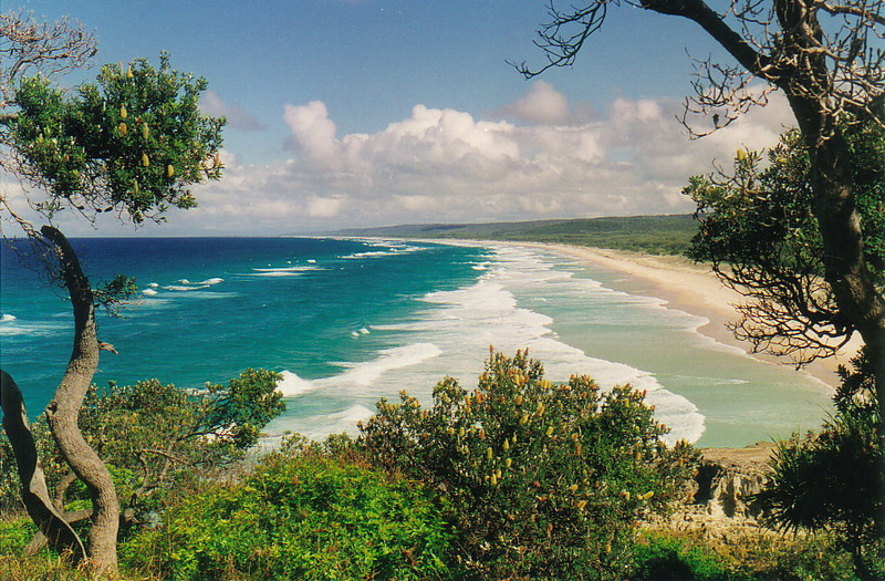 Blue Lake Beach, Stradbroke Island