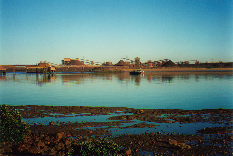 The port of Port Hedland