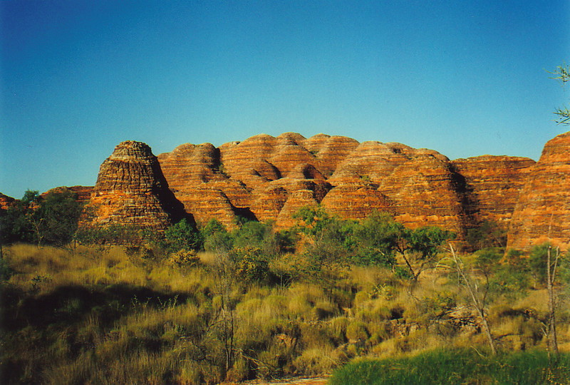 The beehives of Purnululu
