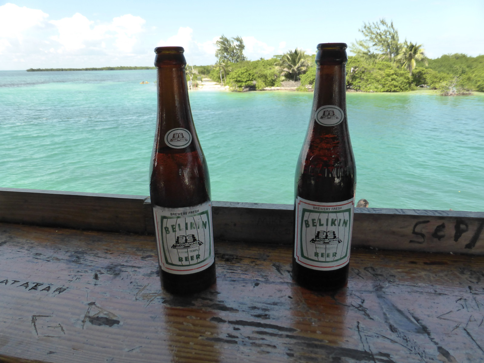 Belikin Beer bottles