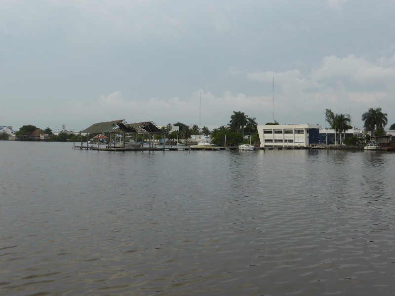 The port in Chetumal