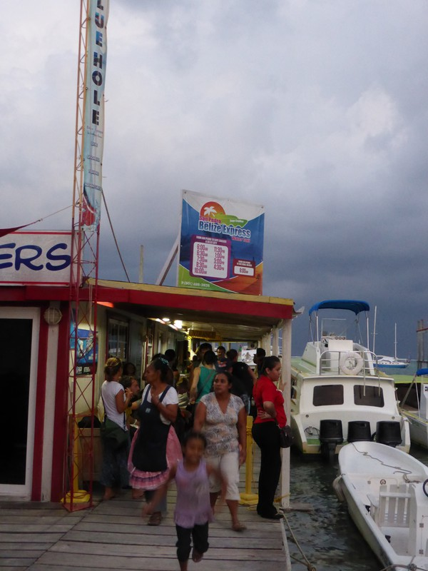 Customs and immigration on Ambergris Caye