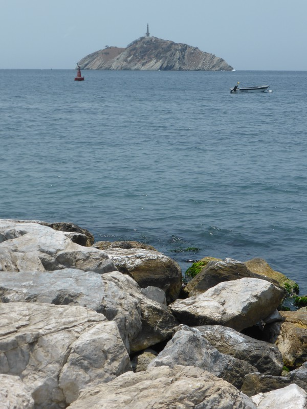 Isla El Morro is just off Santa Marta