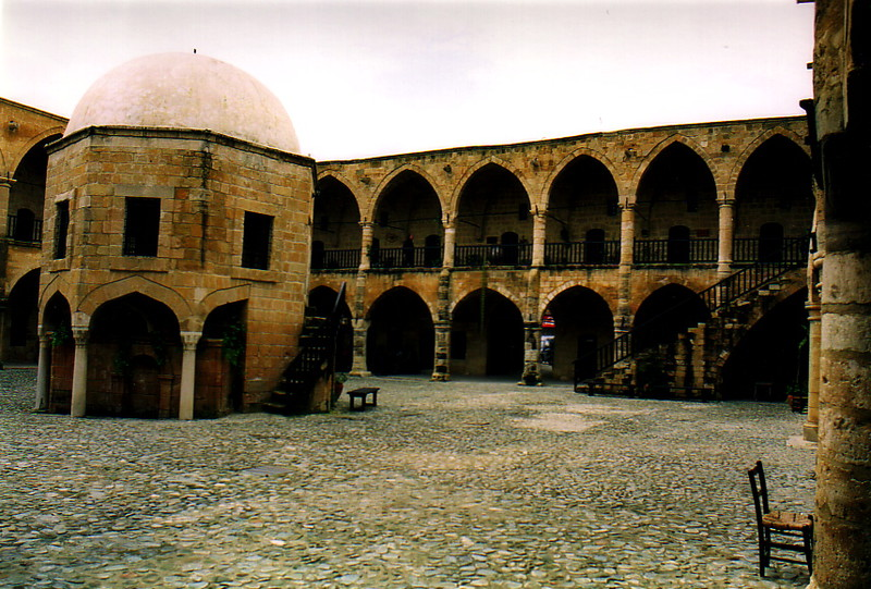The Büyük Han in North Nicosia