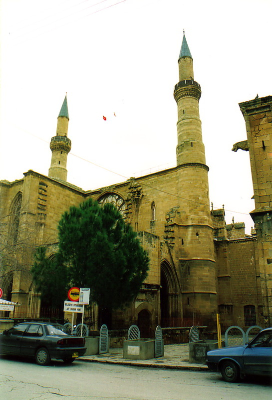 The minarets of the Djami Selimiye