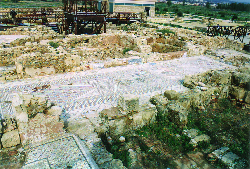 The ruins of Pafos