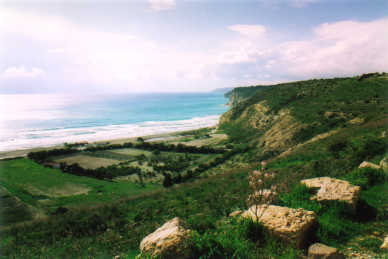 A coastal view from Kourion
