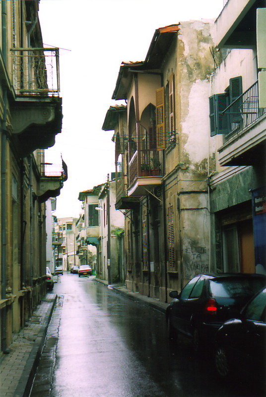 A street in South Nicosia