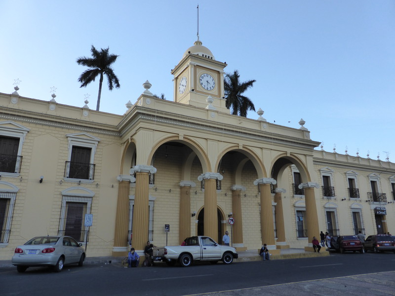 The town hall in Santa Ana
