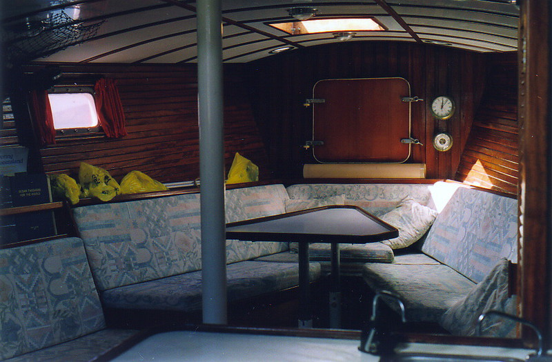 The fore cabin on Zeke
