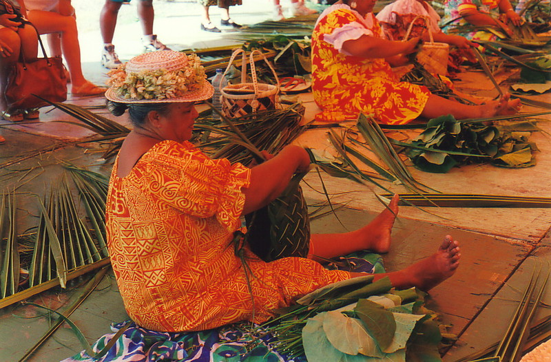 A basket-weaving contest