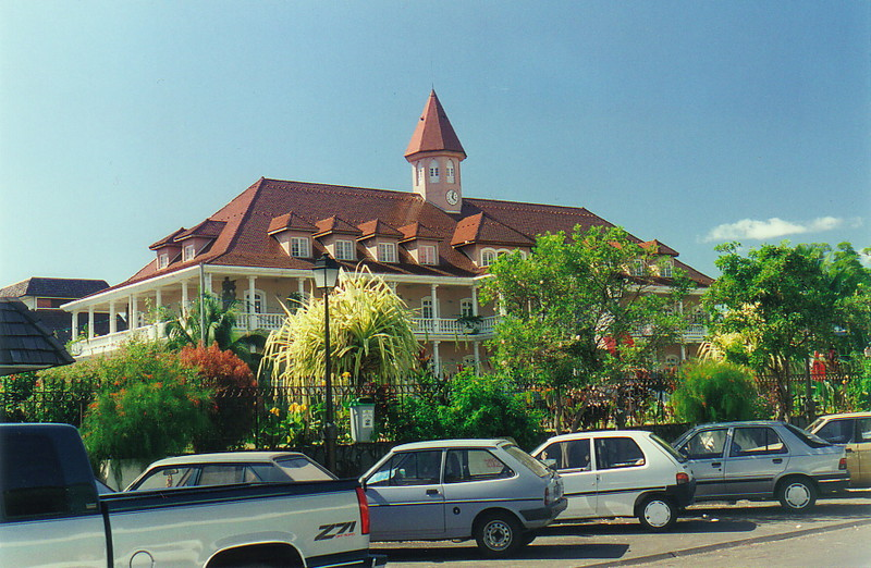 Town hall, Papeete