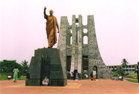 The mausoleum of President Kwame Nkrumah, Accra