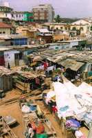 The slums of Cape Coast