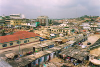 A view over Cape Coast