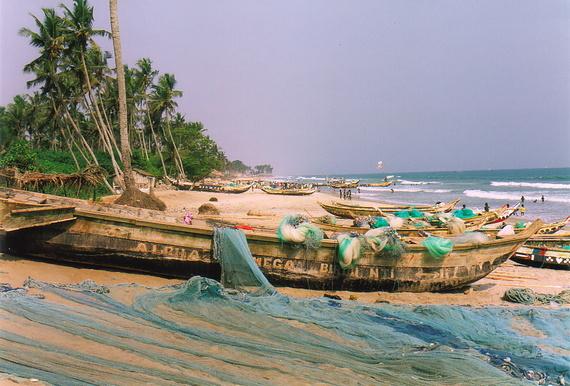 Rastafarian Christmas - Ghana - Mark Moxon's Travel Writing