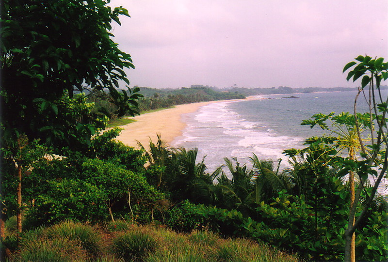 The beach at Axim