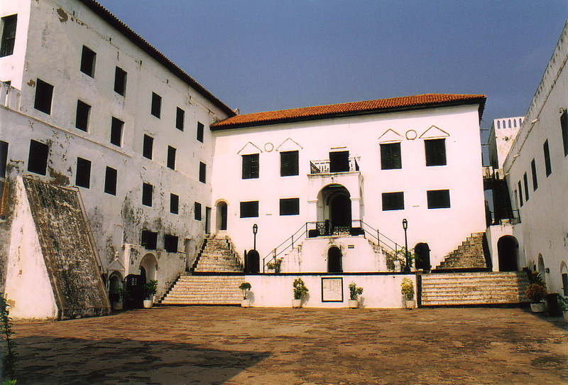 The main courtyard of St George's Castle