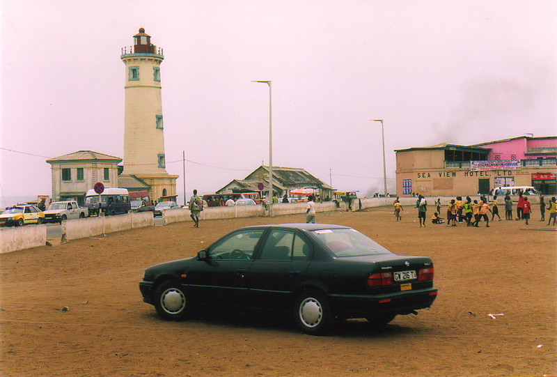 A car in James Town, Accra