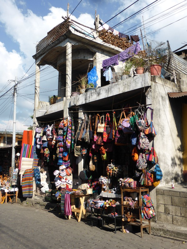 A shop in Santiago Atitlán