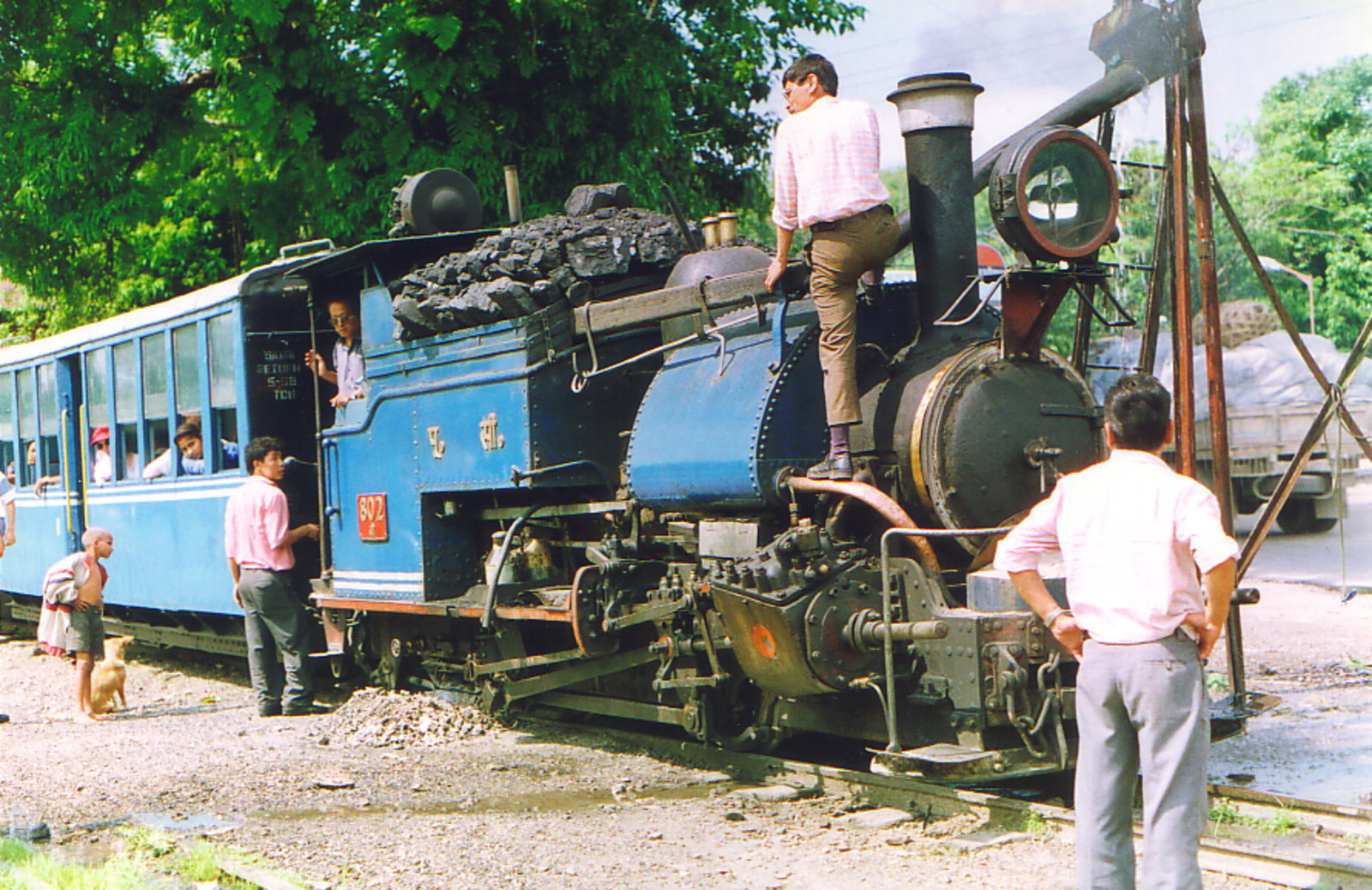 The Toy Train to Darjeeling