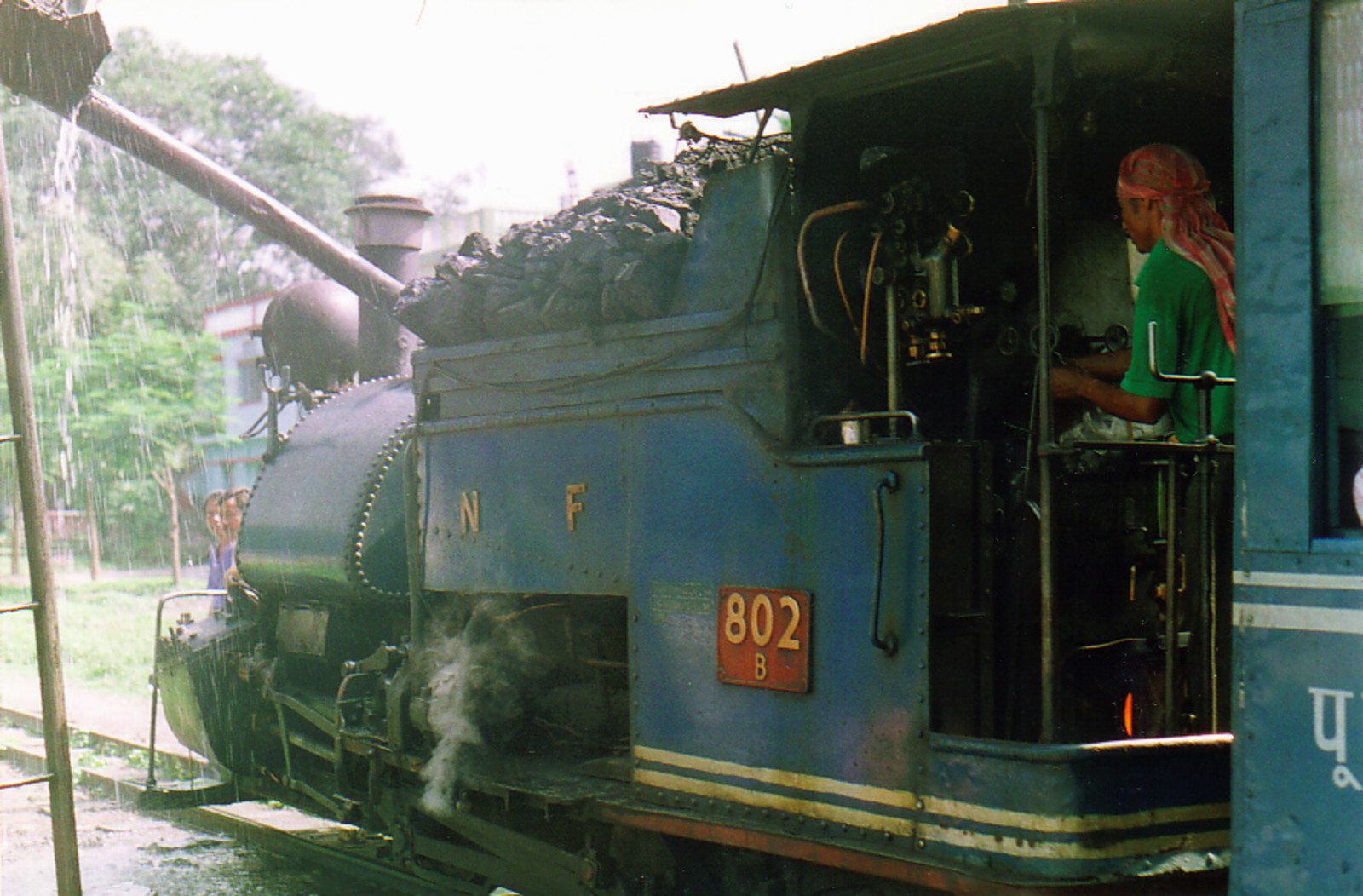 The Toy Train's engine