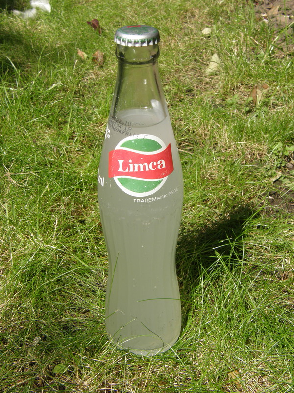 A bottle of Limca