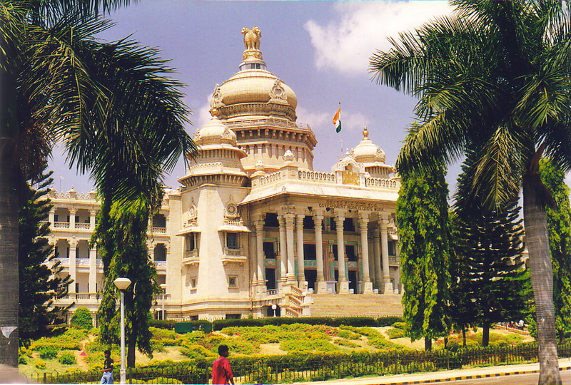 The Vidhana Soudha in Bangalore
