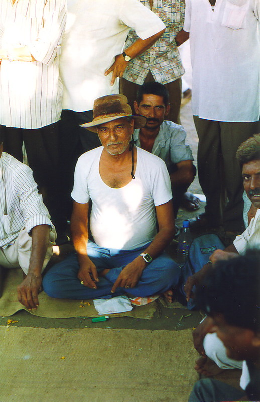 A Bhavnagar man in a hat