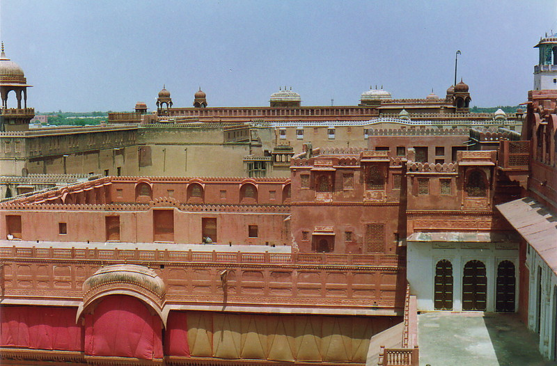 The view over Junagarh Fort