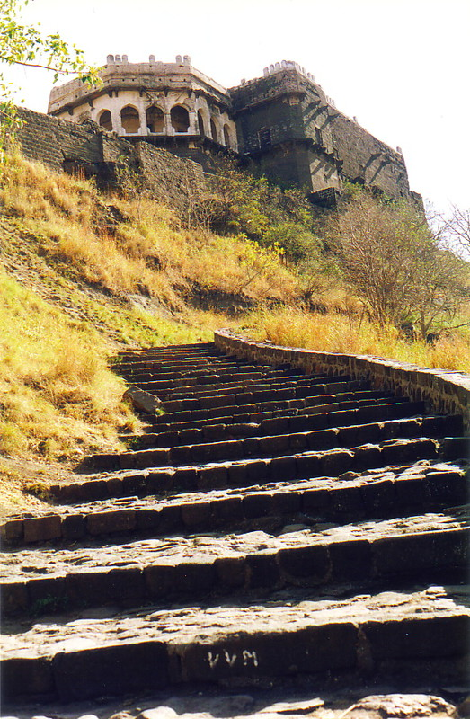 The steps to the citadel of Daultabad