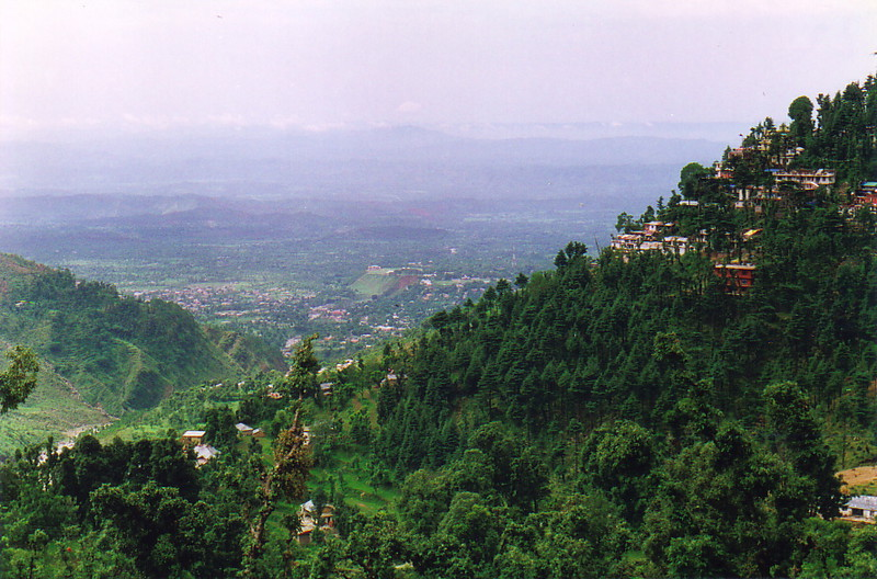The hills of Dharamsala