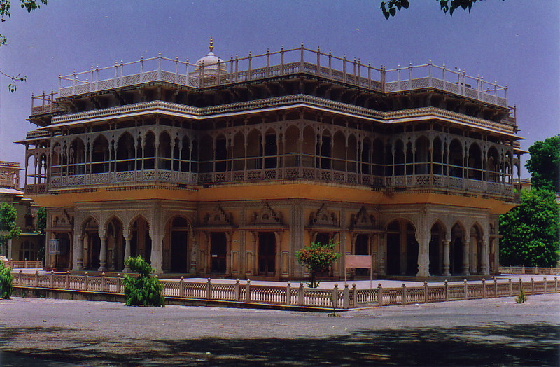 A building inside Jaipur City Palace