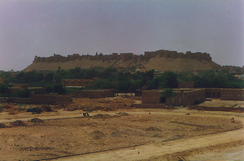 The fortress at Jaisalmer