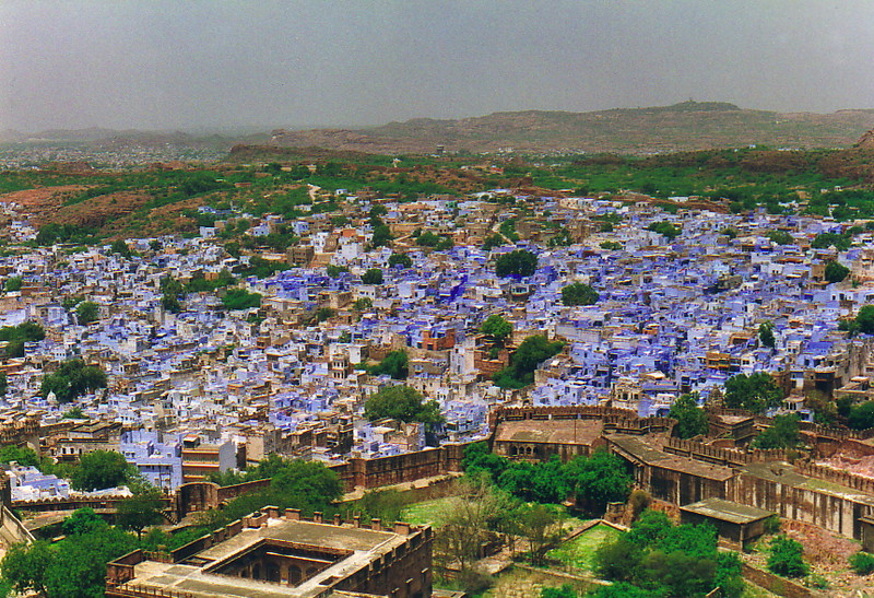 The blue houses of Jodhpur