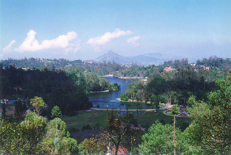 The lake at Kodaikanal