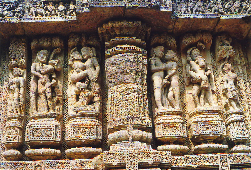 Kama Sutra poses in Konark