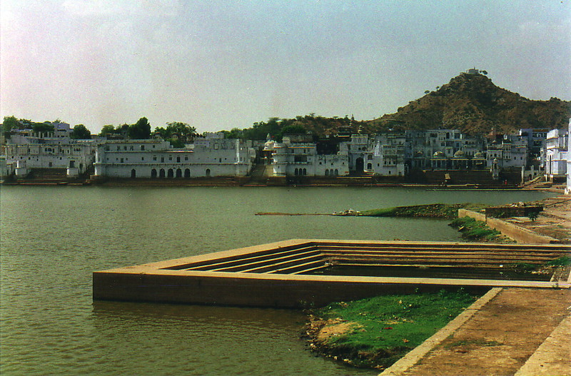 The lake at Pushkar