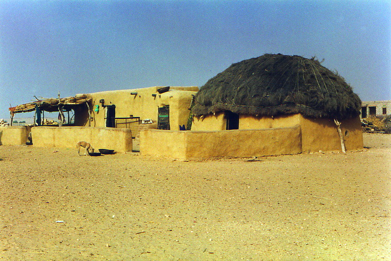 A house in the desert