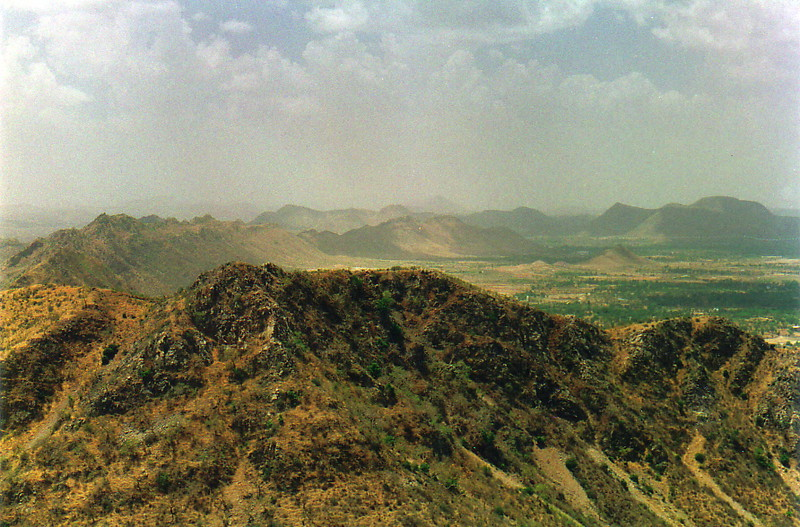 The view from the Monsoon Palace
