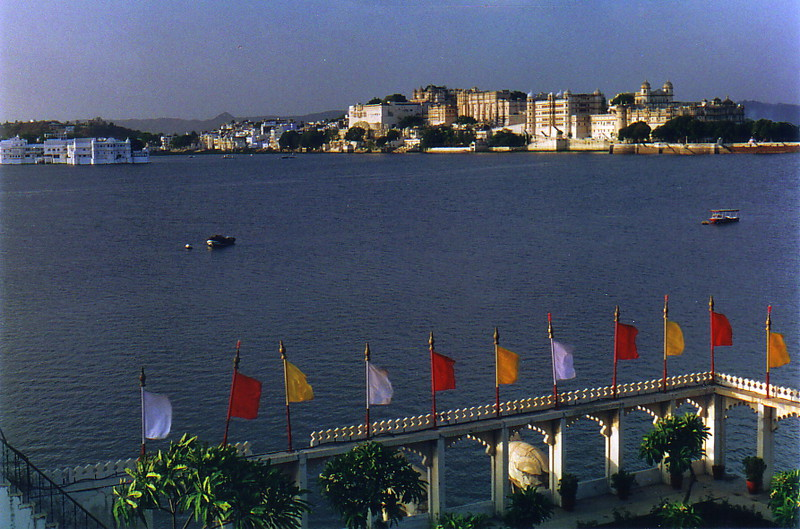 Udaipur from the Jag Mandir Palace