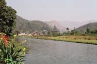 The river through Munnar, to the south of the main town