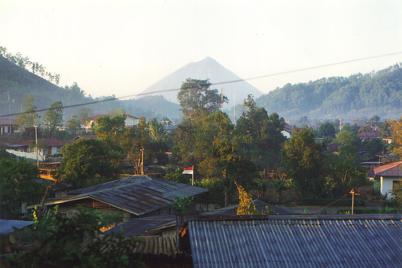 A view of Bajawa