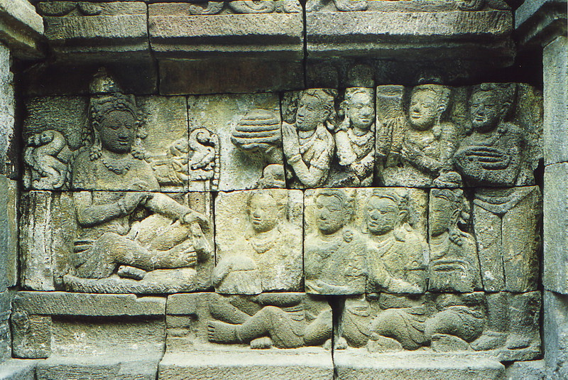 The reliefs of Borobudur