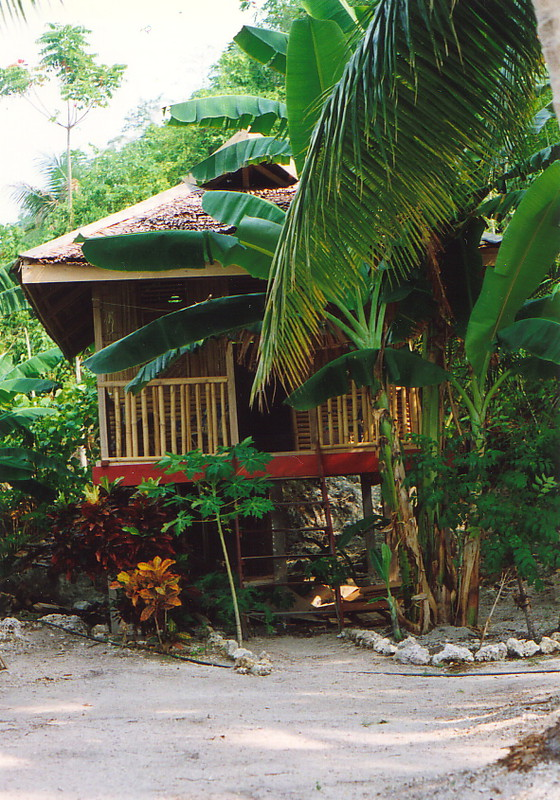 My beach hut on Kadidiri Island