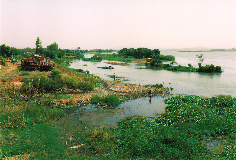 The River Niger in Bamako